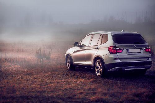 suv,BMW,pkw,visureigė,x3,ruduo,transporto priemonė