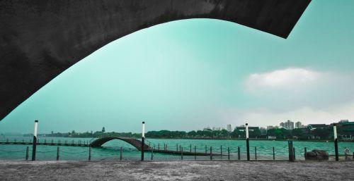 suzhou jinji lake sky