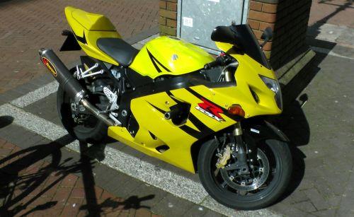 Suzuki GSX Motorcycle