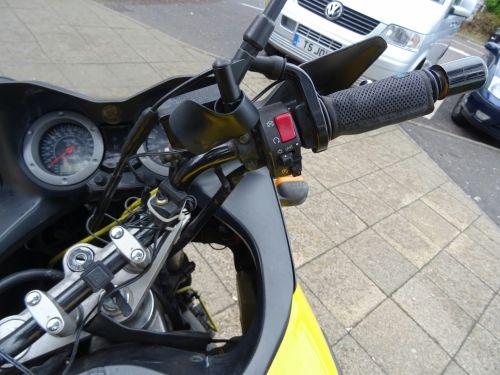 Suzuki V-Strom Bar And Throttle