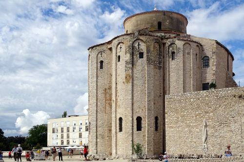 sv donat monastery croatia