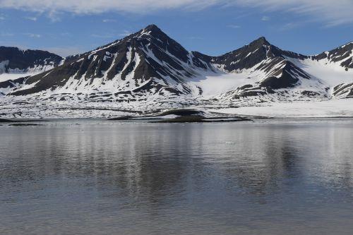 svalbard ice arctic