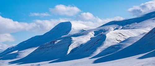 svalbard  longyearbyen  snow