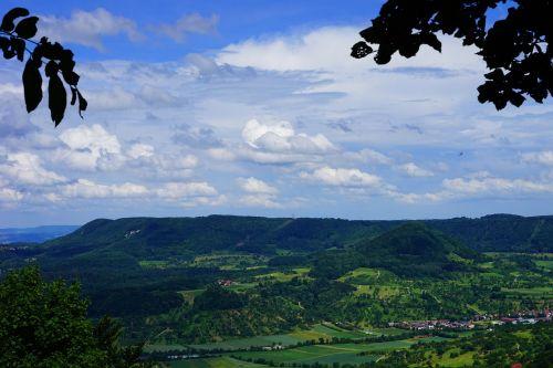 swabian alb witness mountain viewpoint