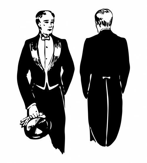 Swallow Tailed Coat Illustration