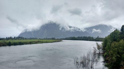 swan river aysén region chile