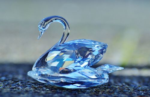 swarovski swan crystal