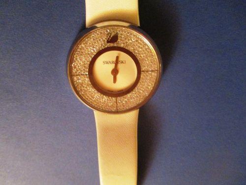 swarovski clock wrist watch