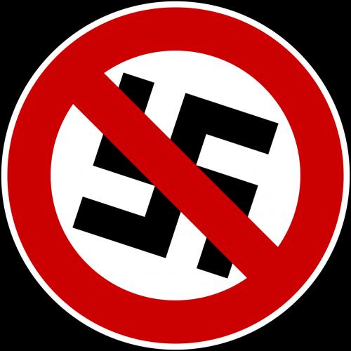 swastika prohibited against