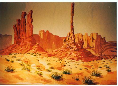 swathi monument desert usa