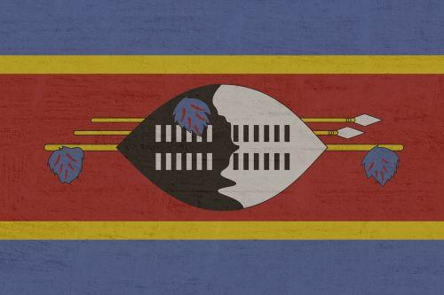 swaziland flag national colours