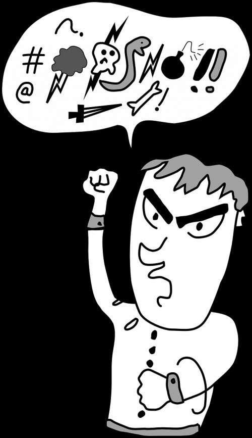swearing profanity cursing
