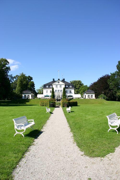 sweden castle building