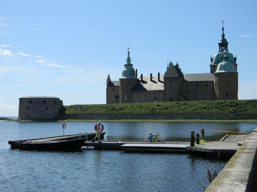 sweden castle summer