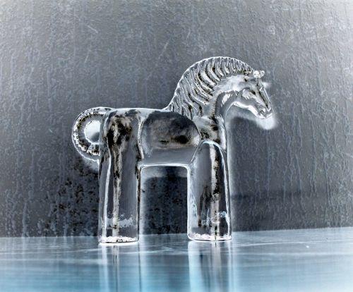 sweden dalarna horse glass