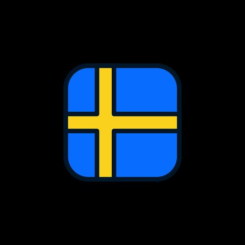 sweden  sweden icon  sweden flag