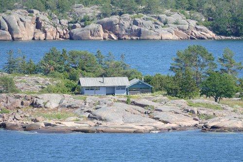 sweden  stockholm  island