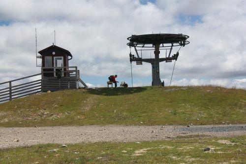 sweden scandinavia ski lift