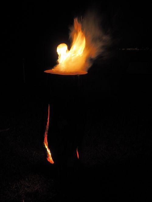 sweden fire finn candle sweden torch