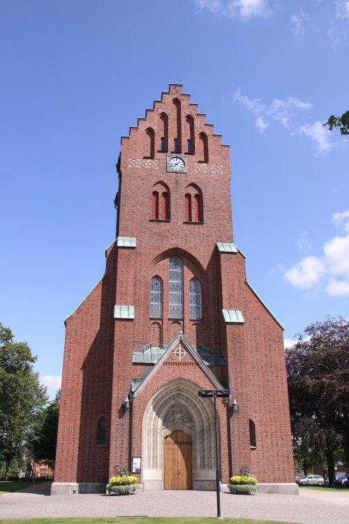 swedish church brickstone