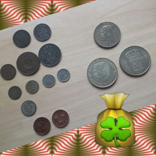 swedish crowns coins