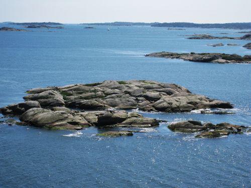swedish archipelago in göteborg västra götaland county
