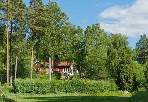 swedish house holiday house summer house