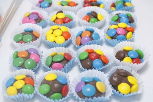 sweet chocolate colorful