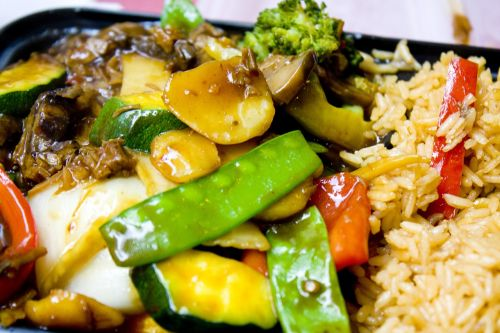 sweet and sour chicken dinner chinese