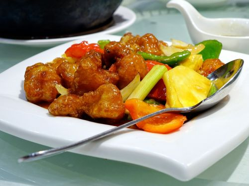 sweet and sour pork 咕噜肉 chinese
