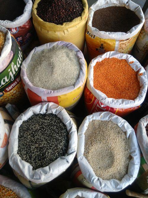 spices food powder