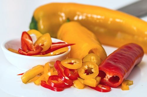 sweet pepper bell pepper salad