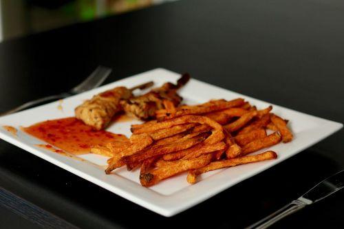 sweet potato fries eat french