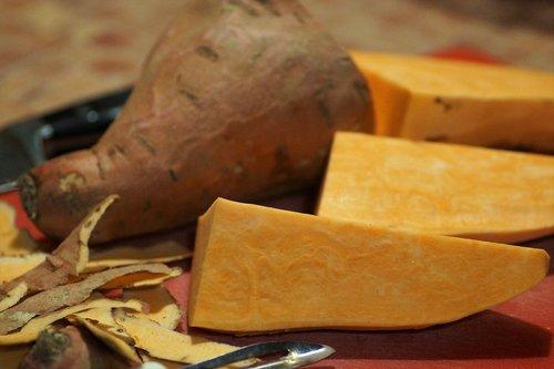 sweet potatoes  batáta  exfoliate