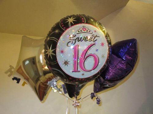 sweet sixteen balloons sweet sixteen balloons