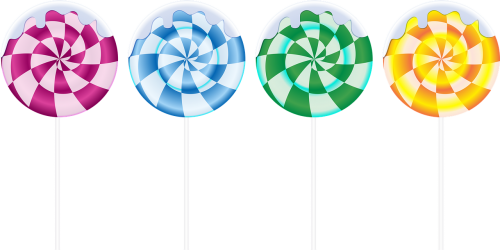 sweetmeats clipart on a stick