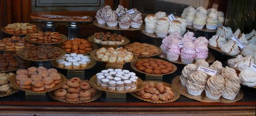 sweets bakery shop window