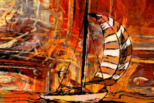 swell ship sailing vessel