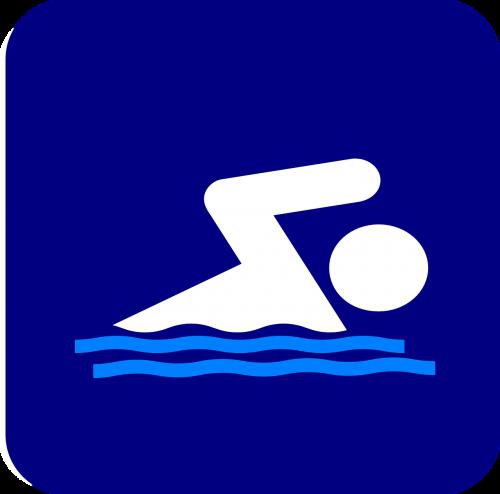 swim stickman stick figure