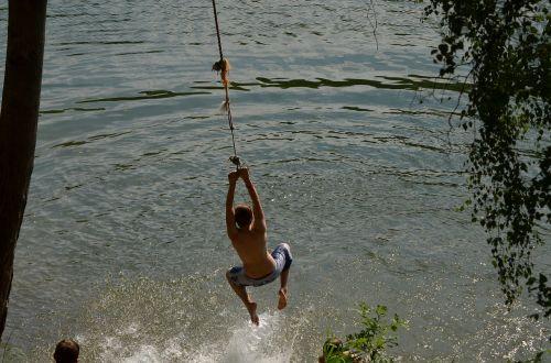 swim romp paddling