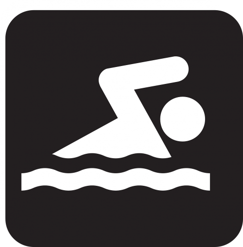 swimmer swimming water