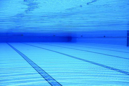 swimming pool water blue