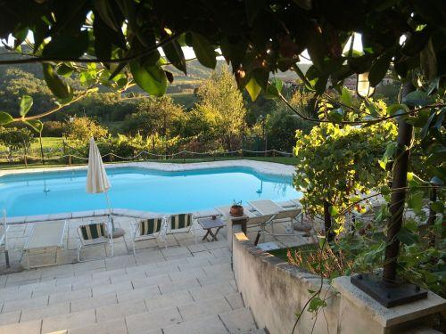 swimming pool blue water