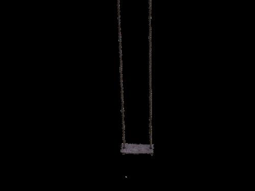 swing wooden swing dew