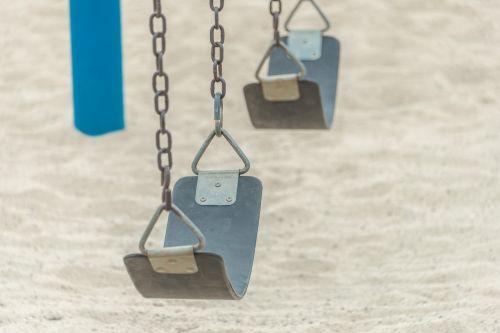 swing empty swings playground