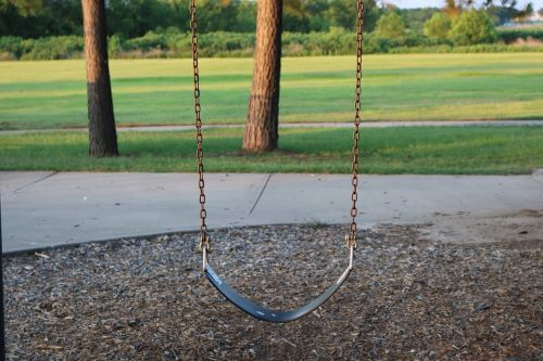swing play ground outdoors
