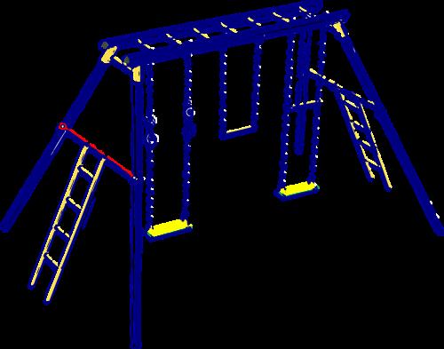 swing playground ladders