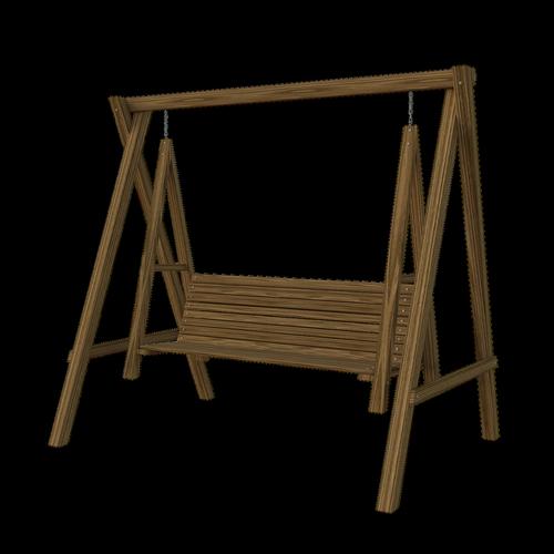 swing  wooden  yard