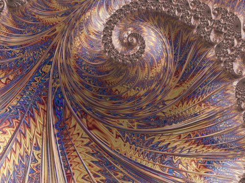 swirl fractal fantasy