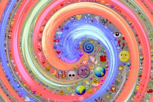 swirl vortex emoji
